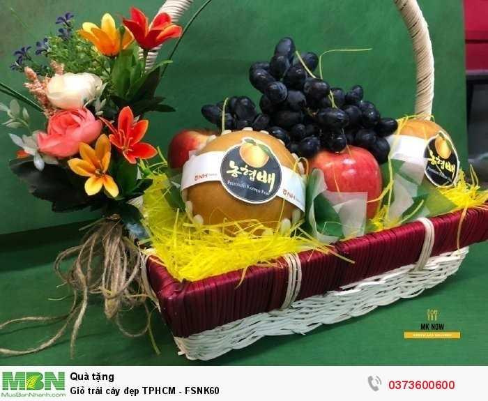 Đặt giỏ trái cây đẹp HCM