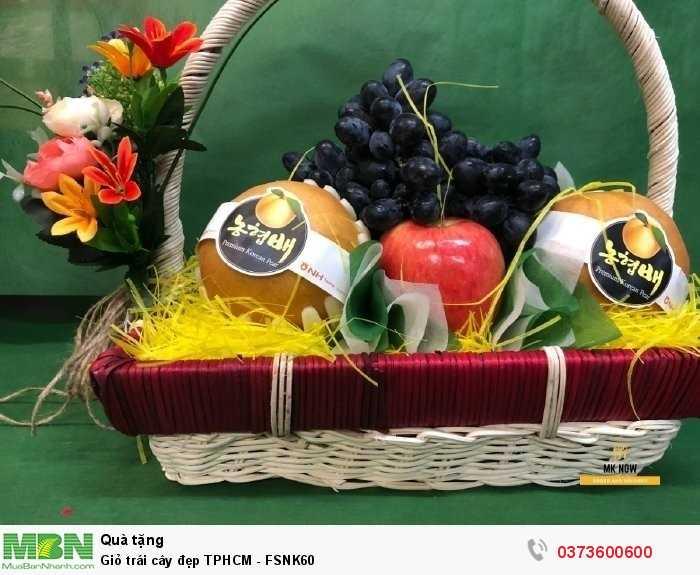 Đặt giỏ trái cây đẹp TPHCM cùng MKnow