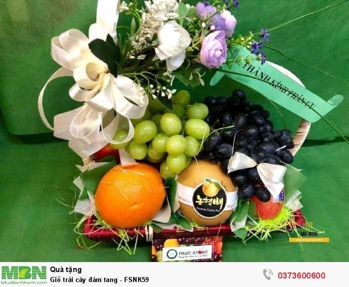 Giỏ trái cây viếng đám tang TPHCM3