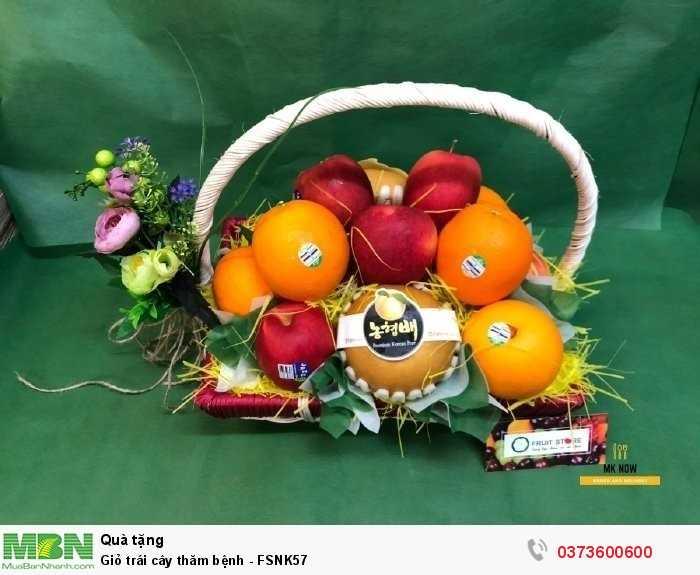 Giỏ trái cây thăm bệnh - FSNK57