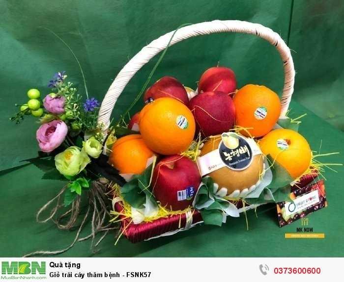Giỏ trái cây đi thăm bệnh