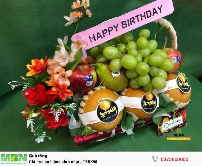 Giỏ trái cây mừng sinh nhật