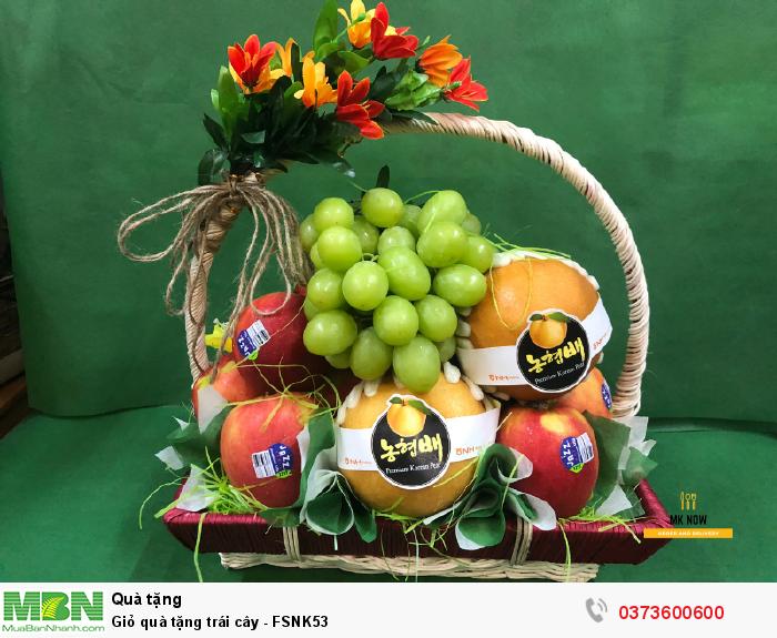 Giỏ quà tặng trái cây - FSNK53