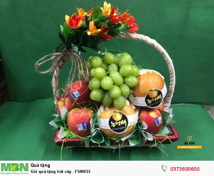 Giỏ quà tặng trái cây
