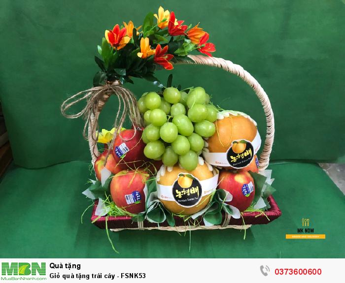 Giỏ trái cây làm quà tặng TPHCM