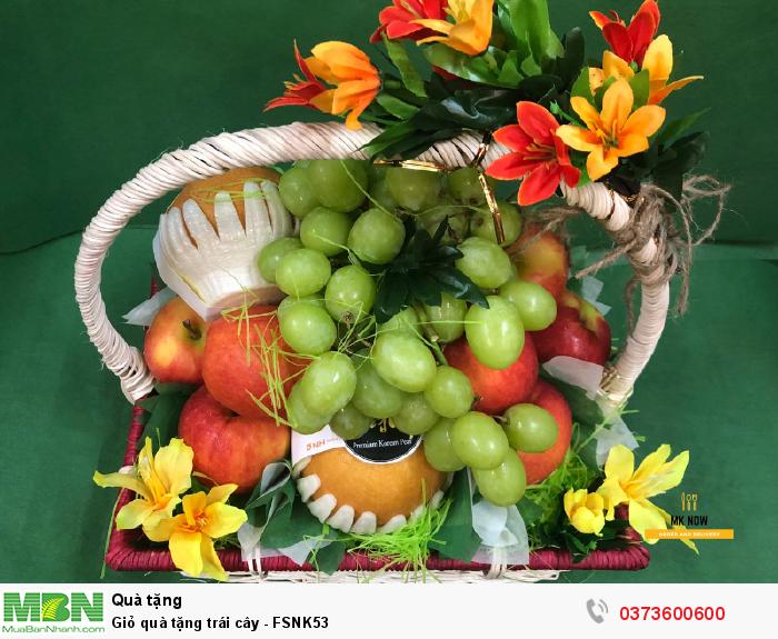 Giỏ trái cây đẹp TPHCM
