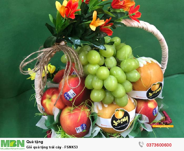 Giỏ trái cây đẹp HCM