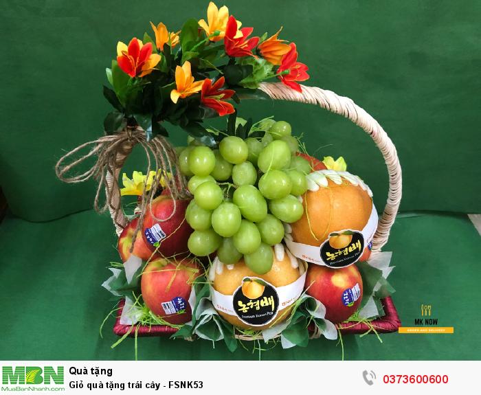 Giỏ trái cây nhập khẩu