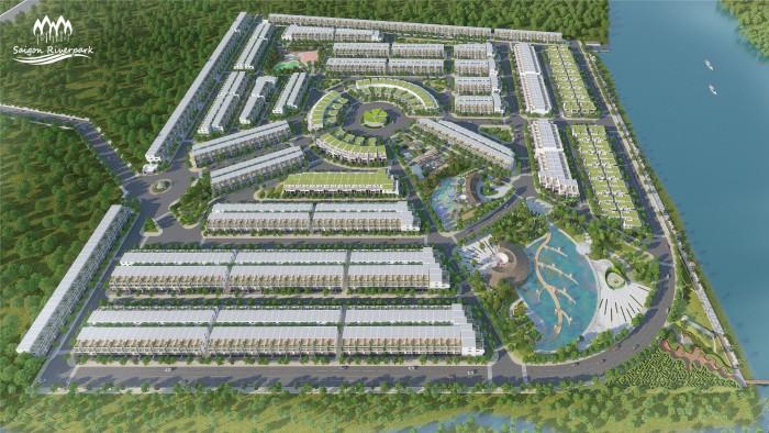 Bán đất nền dự án saigon Riverpark thị trấn Cần Giuộc, Long An