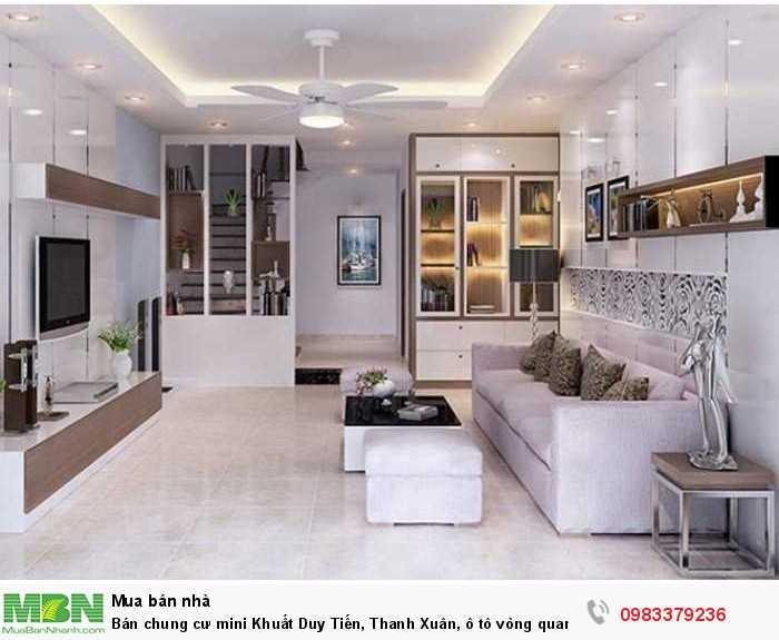 Bán chung cư mini Khuất Duy Tiến, Thanh Xuân, ô tô vòng quanh, doanh thu 70 tr/th, 18 tỷ