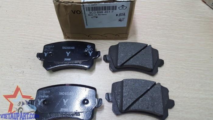 Má phanh sau Volkswagen Tiguan 2015 (3C0 698 451 F) 0