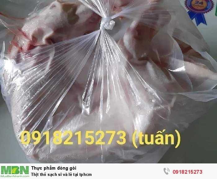 Thịt thỏ sạch sĩ và lẻ tại tphcm0