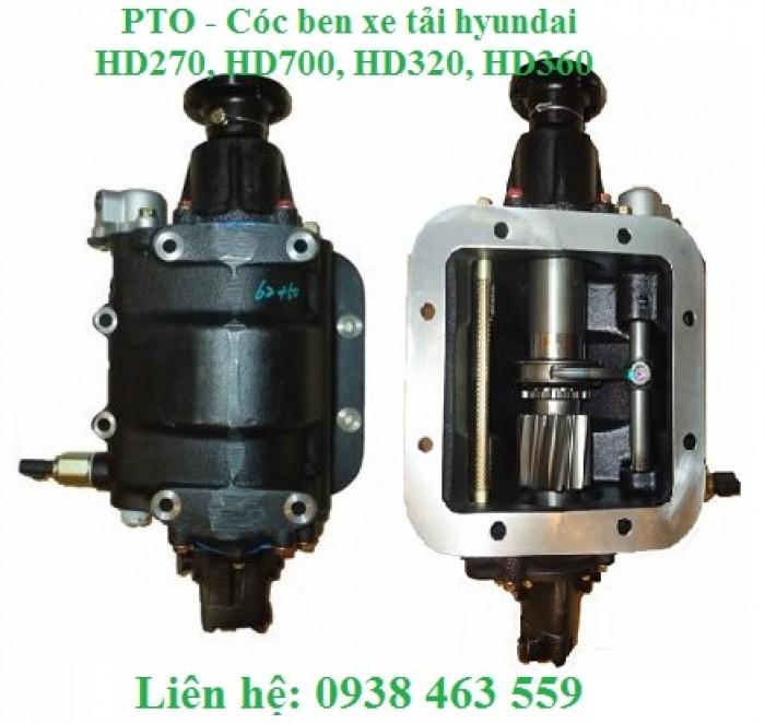 QD47110T00350 Cóc ben, PTO xe tải hyundai hd270, hd700 cóc ben T160 xe tải hyundai