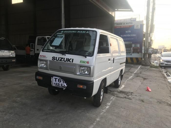 Xe tải van suzuki 490kg, giải pháp vận chuyển giờ cấm tải