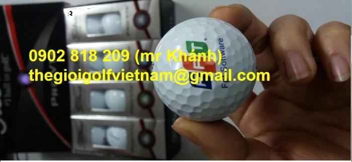 Bóng golf titleist pro v1 in logo làm quà tặng7