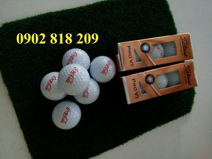 Bóng golf titleist pro v1 in logo làm quà tặng4