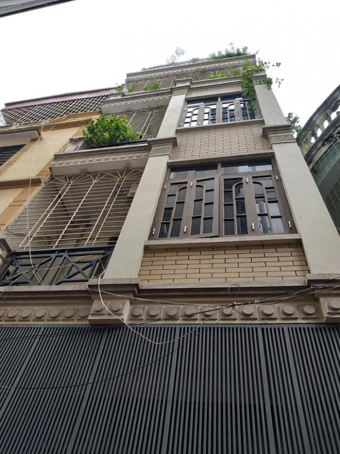 Bán nhà Đẹp Ô tô, phố Trương Định DT 38m2x4 tầng MT 4m