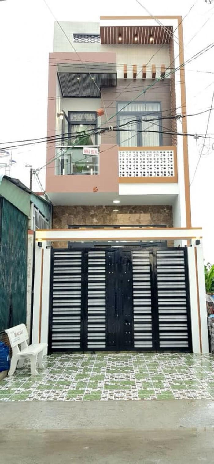 Nhà 1 Trệt 1 Lầu Trục Phụ Khu Dân Cư Hàng Bàng Đ Nguyễn Văn Linh - 4 x 20 - Giá 3 Tỷ 550 Triệu