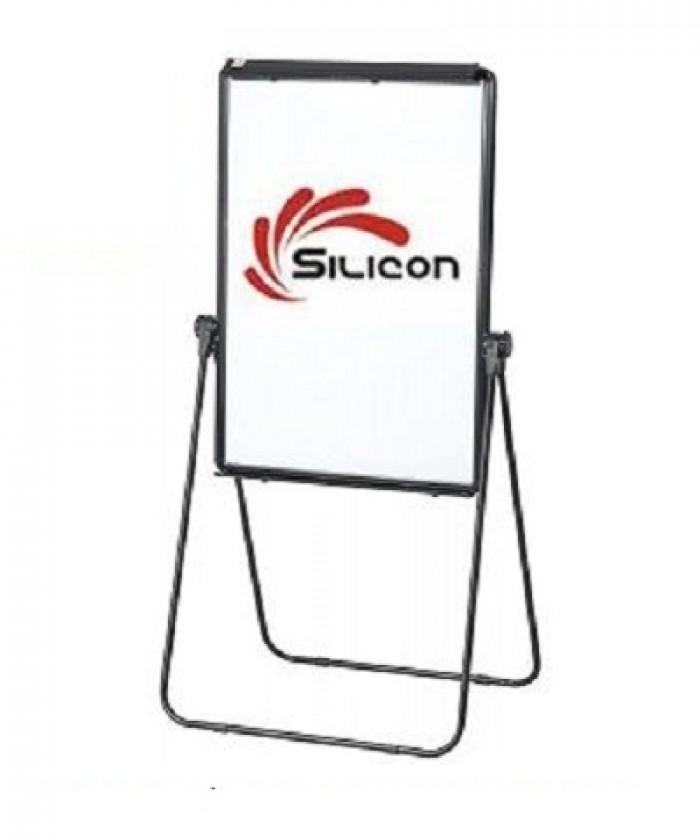 Bảng Flipchart Silicon Chân Chữ U FB66 (70x100) - CÔNG DỤNG: Bảng Flipchart là được sử dụng với các loại bảng dùng trong họp nhóm, thảo luận tại các văn phòng, công ty. Ý hiểu của nó là các loại biểu bảng được lật qua lại trên một mặt phẳng dựng đứng trên một giá đỡ trong các buổi thuyết trình. - Bảng Flipchart cao cấp Silicon là loại bảng được sử dụng trong các buổi hội thảo, trong cuộc họp hay trong phòng giám đốc... Bảng được thiết kế theo mẫu rất đặc biệt, đảm bảo độ thẩm mỹ, nhiều tính năng sử dụng nên rất tiện dụng cho người sử dụng. Đặc biệt bảng được thiết kế nhỏ gọn và nhẹ nên rất thuận tiện cho quý khách có thể mang theo các cuộc họp ở các tỉnh hay nước ngoài.0