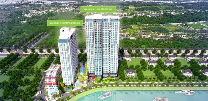 Căn hộ La Astoria Nguyễn Duy Trinh Q2, 55m2 không lửng, Đã nhận nhà, view sông cực đẹp, giá 1.4 tỷ