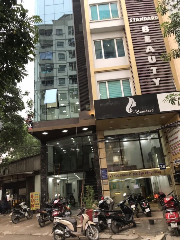 Nhà chính chủ 8 tầng 1 tum Trần Thái Tông, Diện Tích 75m2 Giá 25 tỷ