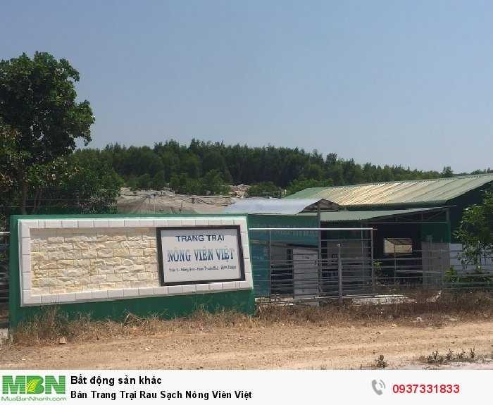 Bán Trang Trại Rau Sạch Nông Viên Việt