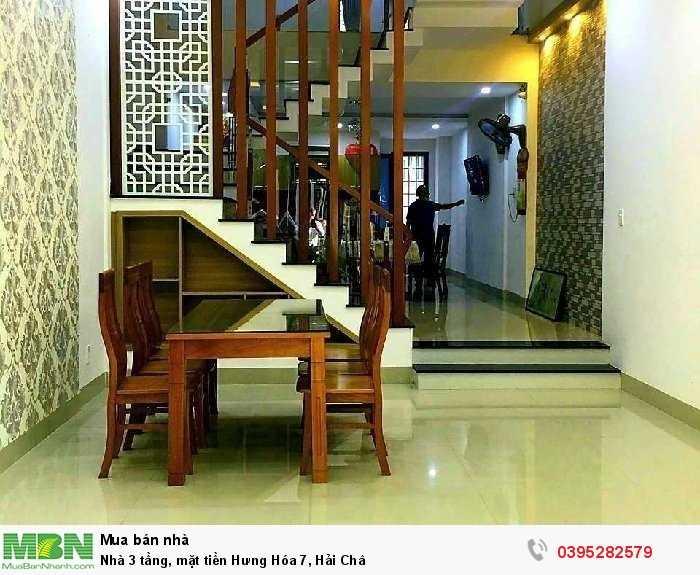 Nhà 3 tầng, mặt tiền Hưng Hóa 7, Hải Châu