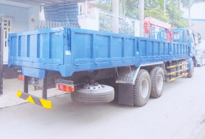Xe tải 3 chân Thaco Auman C1400B/P255 gắn cẩu 3 tấn UNIC model URV343 | Giá ưu đãi cho khách hàng 3