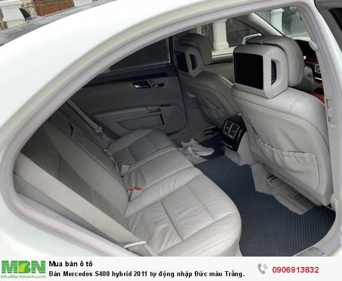 Bán Mercedes S400 hybrid 2011 tự động nhập Đức màu Trắng. 13