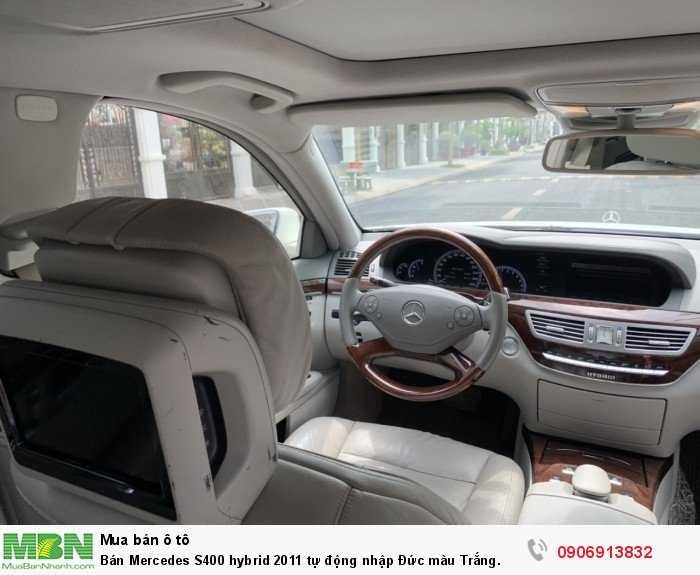 Bán Mercedes S400 hybrid 2011 tự động nhập Đức màu Trắng. 12