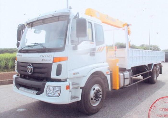 Thaco Auman gắn cẩu 5 tấn SOOSAN model SCS524 | Xe có sẵn giao ngay, hỗ trợ vay trả góp 1