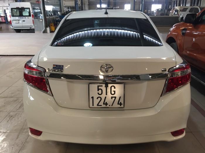 Bán Toyata Vios 1.5E sx 2017 màu trắng Tp