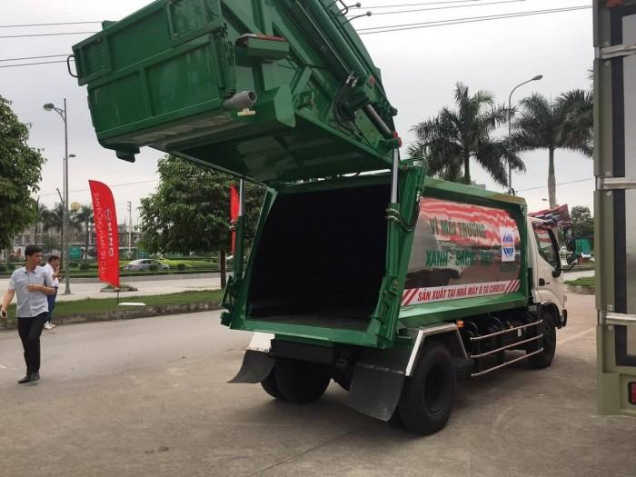 Cần bán xe ép rác Thaco 5 khối - vay 80%