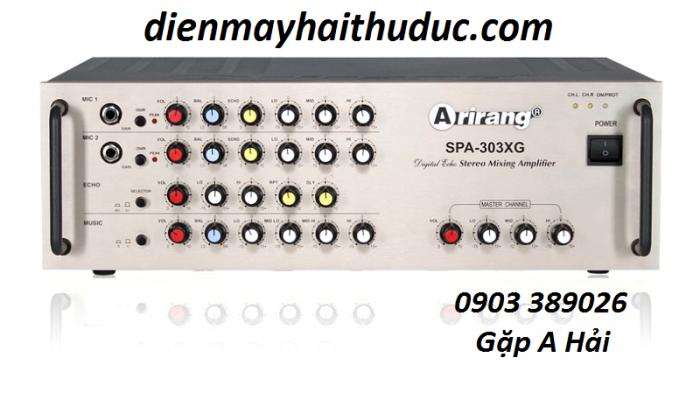 Amply Arirang SPA 303XG Điện Máy Hải là Đại Lý chính thức của Arirang nên bán lẻ bằng giá sỉ