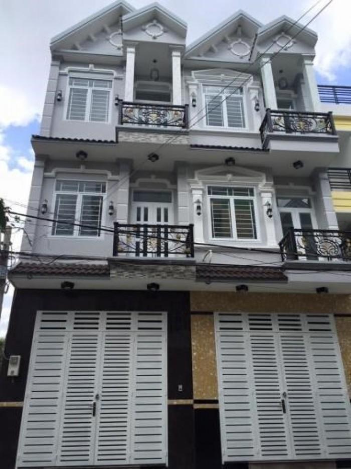 Cần bán nhà mặt tiền đường Nguyễn Văn Bứa 1 trệt 2 lầu giá 1ty4