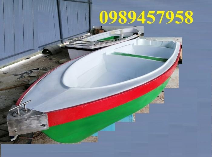 Thuyền composite 3m x 1,3m chở 3-4 người1