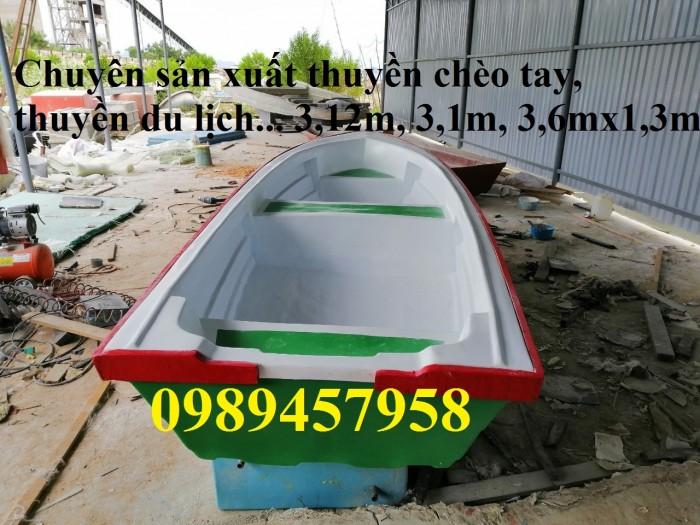 Thuyền composite khu du lịch nghỉ dưỡng, Thuyền nhựa chèo tay 3-4 người11