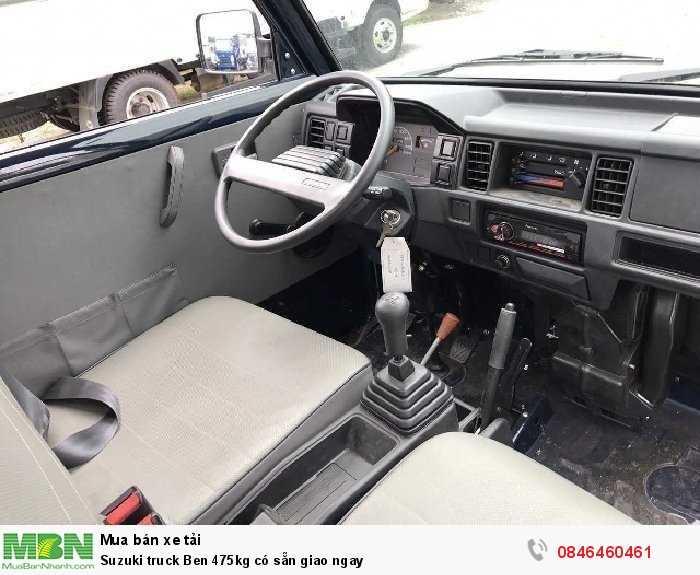 Suzuki truck Ben 475kg có sẵn giao ngay