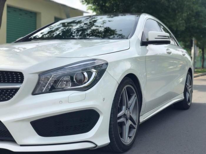 Bán Mercedes Cla 250 Trắng 2016 nhập Hungary xe mới tuyệt 6