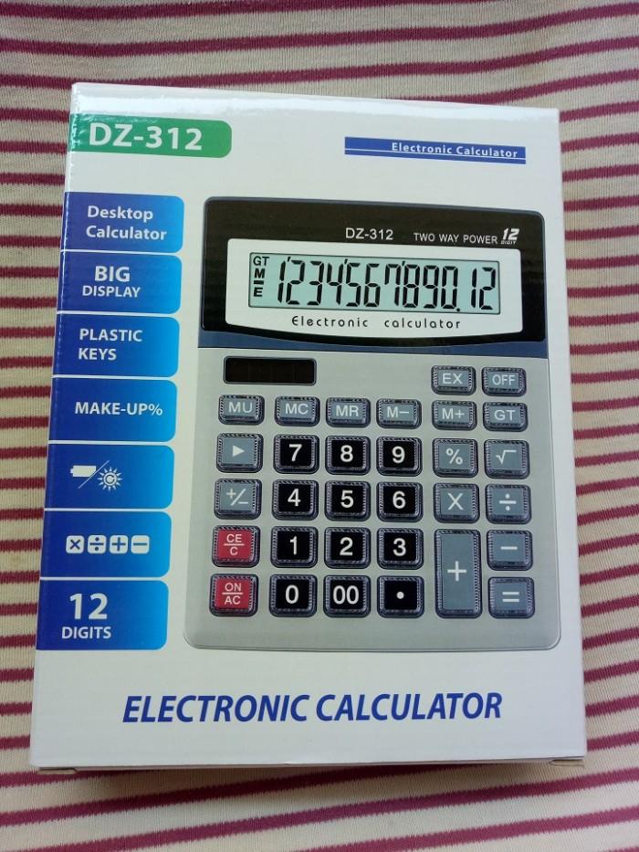Máy tính cầm tay DZ-312   Electronic Calculator DZ-3123
