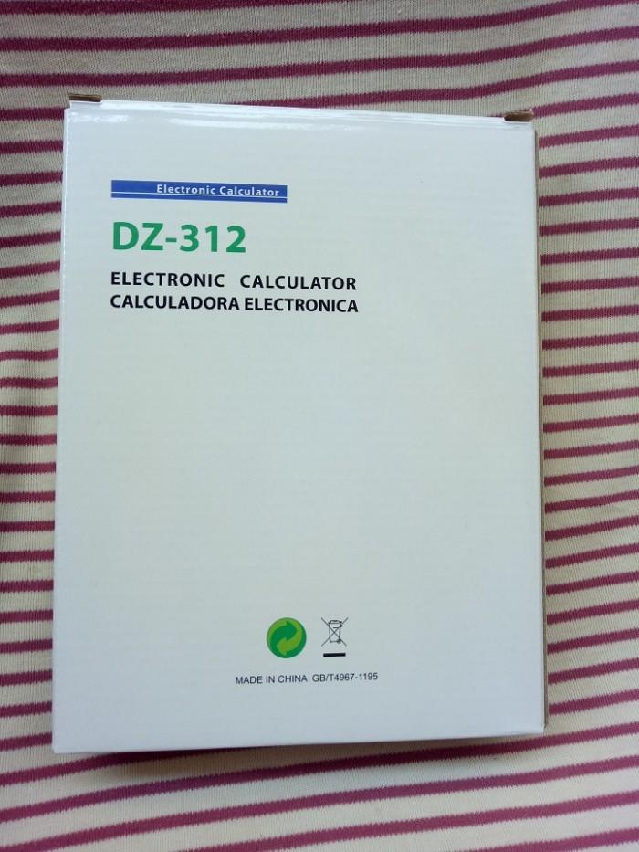 Máy tính cầm tay DZ-312   Electronic Calculator DZ-3124