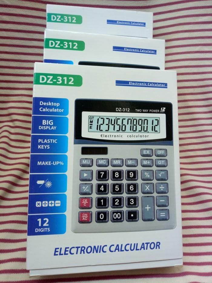 Máy tính cầm tay DZ-312   Electronic Calculator DZ-3125