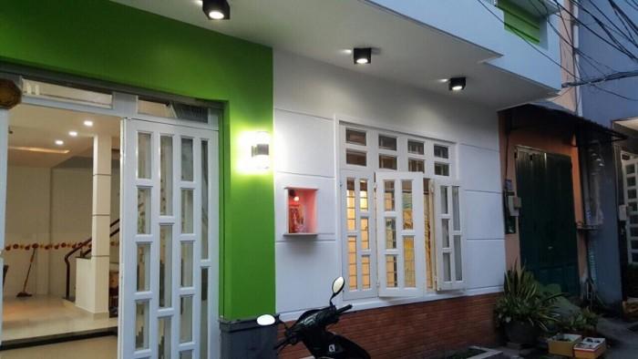 Nhà đôi (8.5x14)1 lầu mới đường Minh Phụng Q6