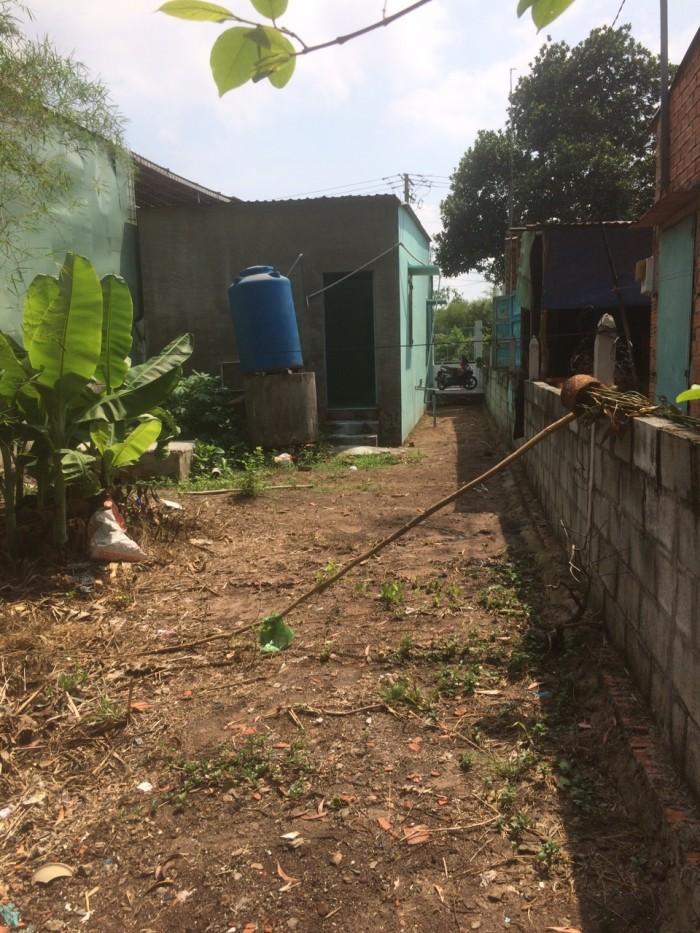 Nhà 6m x 29m mặt tiền đường đất ấp 1 xã Phạm Văn Cội, Củ Chi