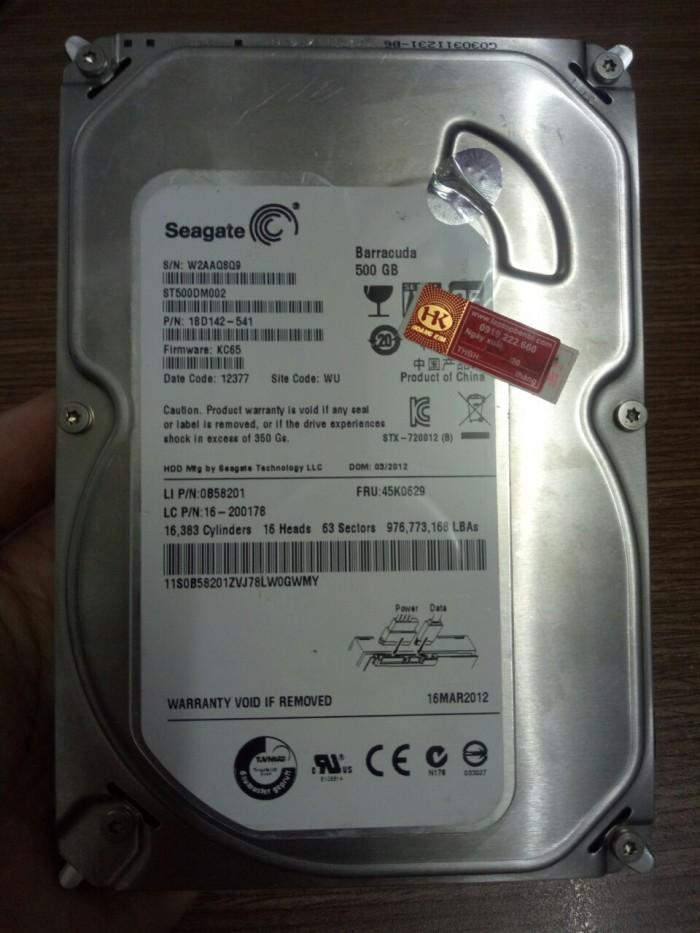 Ổ cứng PC Seagate 500GB SATA | Ổ cứng zin tháo máy0