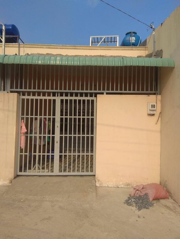 Bán nhà đẹp rẻ đường Vào Cầu ba Phụ phường Thạnh Xuân, Quận 12 Dt 4x20