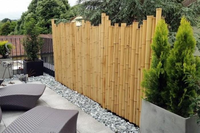 Thi công hàng rào bằng tre trúc Lên hệ Mr Năm: 0912 988 057 8