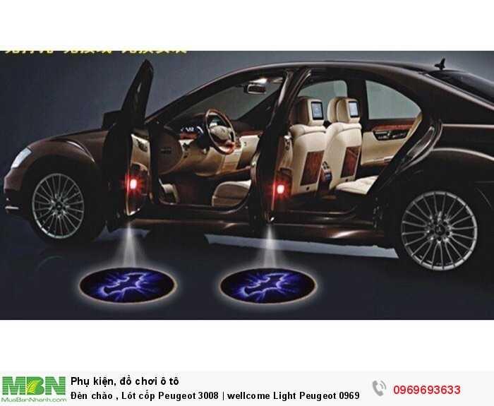 Đèn chào , Lót cốp Peugeot 3008 | wellcome Light Peugeot 2