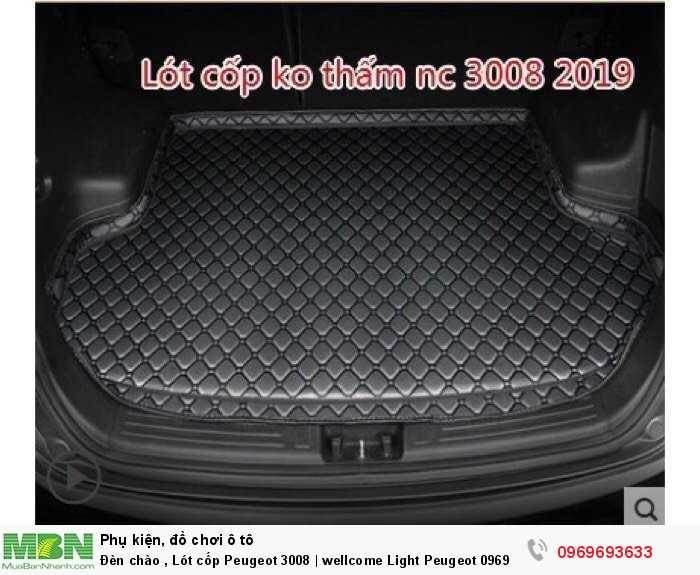 Đèn chào , Lót cốp Peugeot 3008 | wellcome Light Peugeot 3