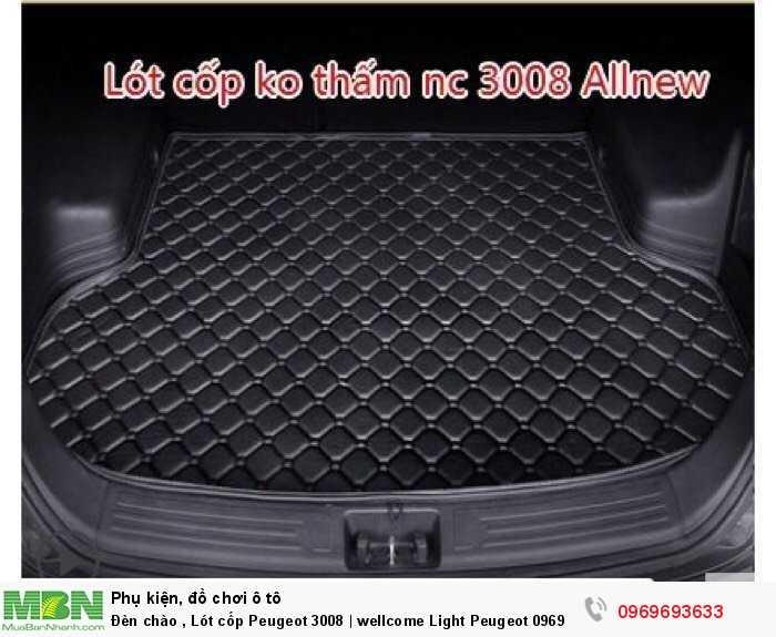 Đèn chào , Lót cốp Peugeot 3008 | wellcome Light Peugeot 4